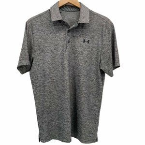 Under Amour Heat Gear Loose Polo Golf Shirt size S